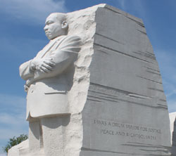Photo of Martin Luther King Jr. Memorial - Photo by Ron Patterson